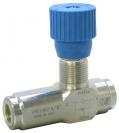 """VRFU 90 1/4"""" škrtící ventil jednocestný"""