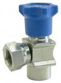 EM9001B 1/4-90-F-F manometrový ventil