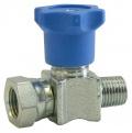 EMIL01A 1/4-M-F manometrový ventil